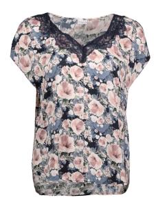 Jacqueline de Yong T-shirt JDYAPPA S/S LACE TOP WVN  15148133 Rose Smoke/ALURA FLOW