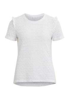 Vila T-shirt VIWISTY S/S T-SHIRT 14044779 Cloud Dancer