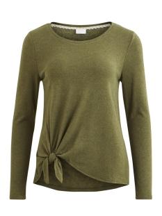 Vila T-shirt VIBEE L/S T-SHIRT/PB 14044385 Ivy Green