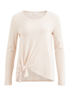 Vila T-shirt VIBEE L/S T-SHIRT/PB 14044385 Peach Blush