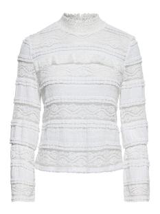 Only T-shirt onlMARJORIE  L/S HIGH NECK TOP JRS 15150828 Cloud Dancer