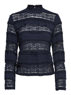 Only Blouse onlMARJORIE  L/S HIGH NECK TOP JRS 15150828 Night Sky