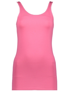 Noisy may Top NMSUPER LONG TANK TOP COLOR 27001498 Carmine Rose