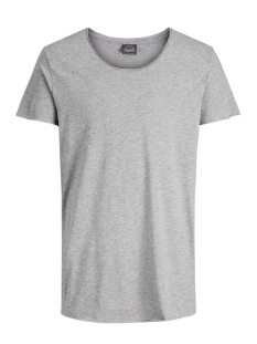 Jack & Jones T-shirt JORBAS TEE SS U-NECK NOOS 12115979 Light Grey Melange