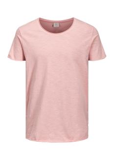 Jack & Jones T-shirt JORBAS TEE SS U-NECK NOOS 12115979 Silver Pink/REG