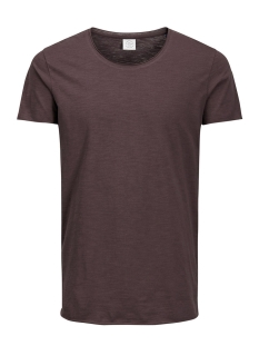 Jack & Jones T-shirt JORBAS TEE SS U-NECK NOOS 12115979 Raisin