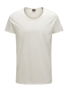 Jack & Jones T-shirt JORBAS TEE SS U-NECK NOOS 12115979 Cloud Dancer