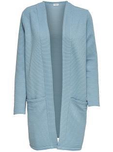 Jacqueline de Yong Vest JDYAMARA L/S CARDIGAN JRS NOOS 15146113 Stone Blue