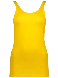 Noisy may Top NMSUPER LONG TANK TOP COLOR 27001498 Lemon Chrome