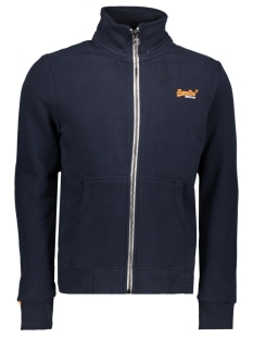 Superdry Vest M20066PQ TRACK TOP UPU NAVY