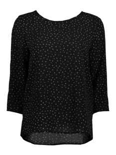 Only T-shirt onlNOVA AOP LUX 3/4 SLEEVE TOP WVN 15152715 Black/ Graphic