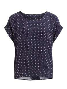 Object Blouse OBJPERRY S/S TOP 96 23026309 Mood Indigo