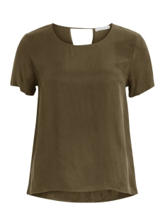 Vila T-shirt VIRAF S/S TOP-NOOS 14042585 Ivy Green