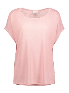 Vila T-shirt VISUMI S/S TOP-NOOS 14039490 Bridal Rose