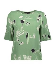 Vero Moda T-shirt VMATHEA 2/4 TOP 10194566 Dark Ivy/THEA AOP