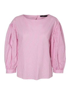 Vero Moda Blouse VMMINNIE 7/8 TOP 10195757 Opera Mauve/STRIPED