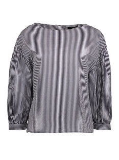 Vero Moda Blouse VMMINNIE 7/8 TOP 10195757 Night Sky/STRIPED