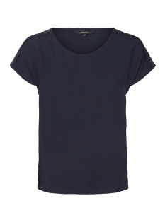 Vero Moda T-shirt VMLACEY BOCA SS TOP 10194916 Night Sky