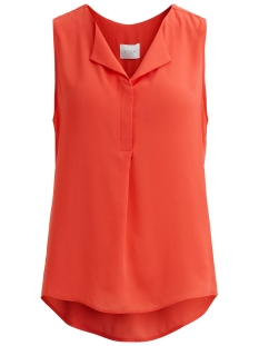 Vila Top VILUCY S/L TOP - FAV 14044853 Spiced Coral