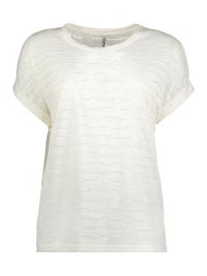 Only T-shirt onlHANNA S/S TOP JRS 15153437 Cloud Dancer