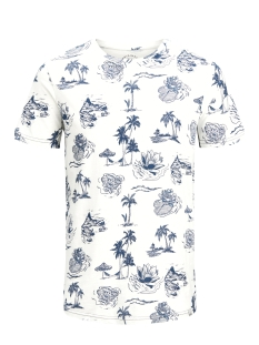 Jack & Jones T-shirt JORMIRAGE TEE SS CREW NECK 12131741 Cloud Dancer