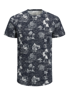 Jack & Jones T-shirt JORMIRAGE TEE SS CREW NECK 12131741 Total Eclipse