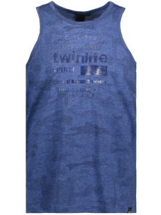 Twinlife T-shirt MSI811581 6677 Deep Blue