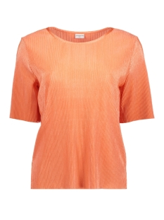 Jacqueline de Yong T-shirt JDYCITA S/S TOP JRS 15151928 Peach Echo