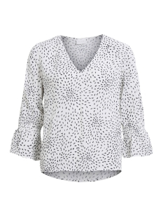 Vila Top VIMOSA 3/4 SLEEVE TOP 14046089 Cloud dancer/Vimosa