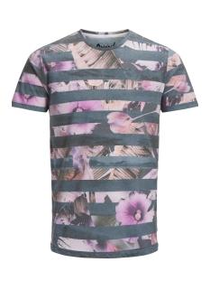 Jack & Jones T-shirt JORSHELL TEE SS CREW NECK 12137388 Total Eclipse