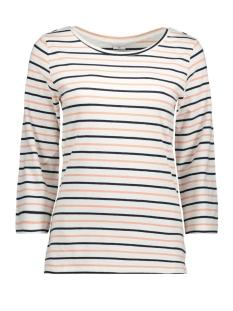 Jacqueline de Yong T-shirt JDYCHARM 3/4 TOP JRS 15149439 Cloud Dancer/BLOOMING D