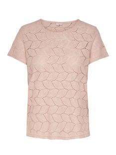 Jacqueline de Yong T-shirt JDYTAG S/S LACE TOP JRS RPT2 NOOS 15152331 Cameo Rose