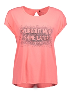 Only Play Sport shirt onpGLAM LOOSE SS TRAINING TEE 15143947 Lipstick pink