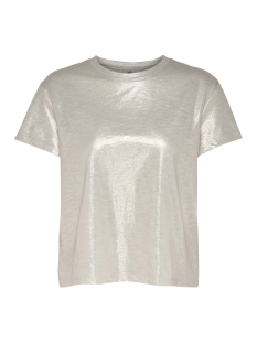 Only T-shirt onlSIF LOOSE S/S O-NECK TOP JRS 15153402 Frosted Almond