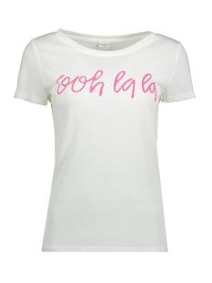 Jacqueline de Yong T-shirt JDYRAINBOW S/S PRINT TOP 03 JRS 15149514 Cloud Dancer/OOH