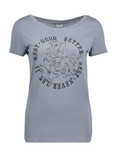 Jacqueline de Yong T-shirt JDYRAINBOW S/S PRINT TOP 03 JRS 15149514 Tradewinds/BETTER