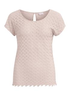 Vila T-shirt VIMARTHA S/S TOP/1 14047036 Peach Blush