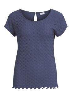 Vila T-shirt VIMARTHA S/S TOP/1 14047036 Grisaille