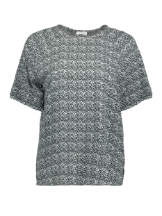 Noisy may T-shirt NMMAGICVISCOSE S/S RAGLAN TOP 2 27001984 Bright White/GRAPHIC W.