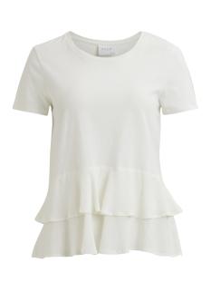 Vila T-shirt VIBOND S/S TOP 14046791 Cloud Dancer