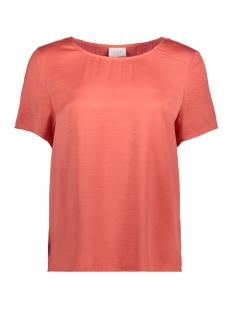 Vila T-shirt VICAVA S/S TOP-FAV 14043504 Spiced Coral