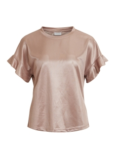 Vila T-shirt VIADORA S/S T-SHIRT 14046772 Adobe Rose