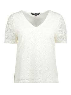 Vero Moda T-shirt VMLIDA S/S MIDI TOP D2-3 10197908 Snow White