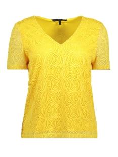 Vero Moda T-shirt VMLIDA S/S MIDI TOP D2-3 10197908 Cream Gold