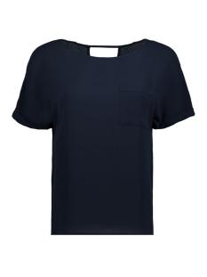 Vero Moda T-shirt VMSASHA WIDE S/S TOP 10193169 Navy Blazer