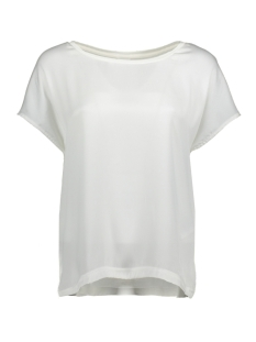 Jacqueline de Yong T-shirt JDYCHARLOT S/S TOP WVN 15152369 Cloud Dancer