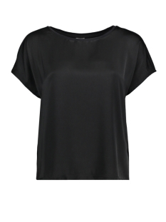 Jacqueline de Yong T-shirt JDYCHARLOT S/S TOP WVN 15152369 Black