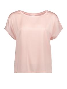 Jacqueline de Yong T-shirt JDYCHARLOT S/S TOP WVN 15152369 Peachskin
