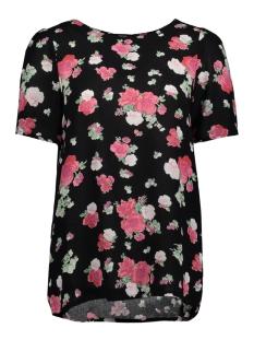 Vero Moda T-shirt VMLILI MINI VISC S/S TOP D2-3 10197293 Black/LILI MINI