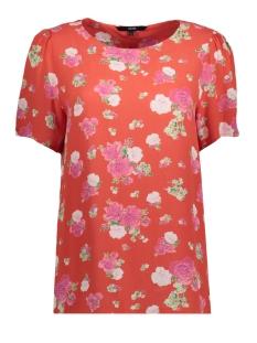 Vero Moda T-shirt VMLILI MINI VISC S/S TOP D2-3 10197293 Poppy Red